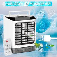 3 IN 1 USB Charging Mini Cooling Fan Portable Air Conditioning Fan Air Humidification Purification Device