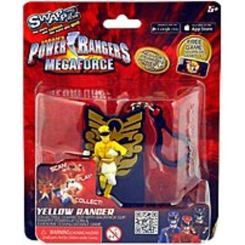 Swappz 628430123207 Power Rangers Mega Force with Coin - Yellow (Refurbished)