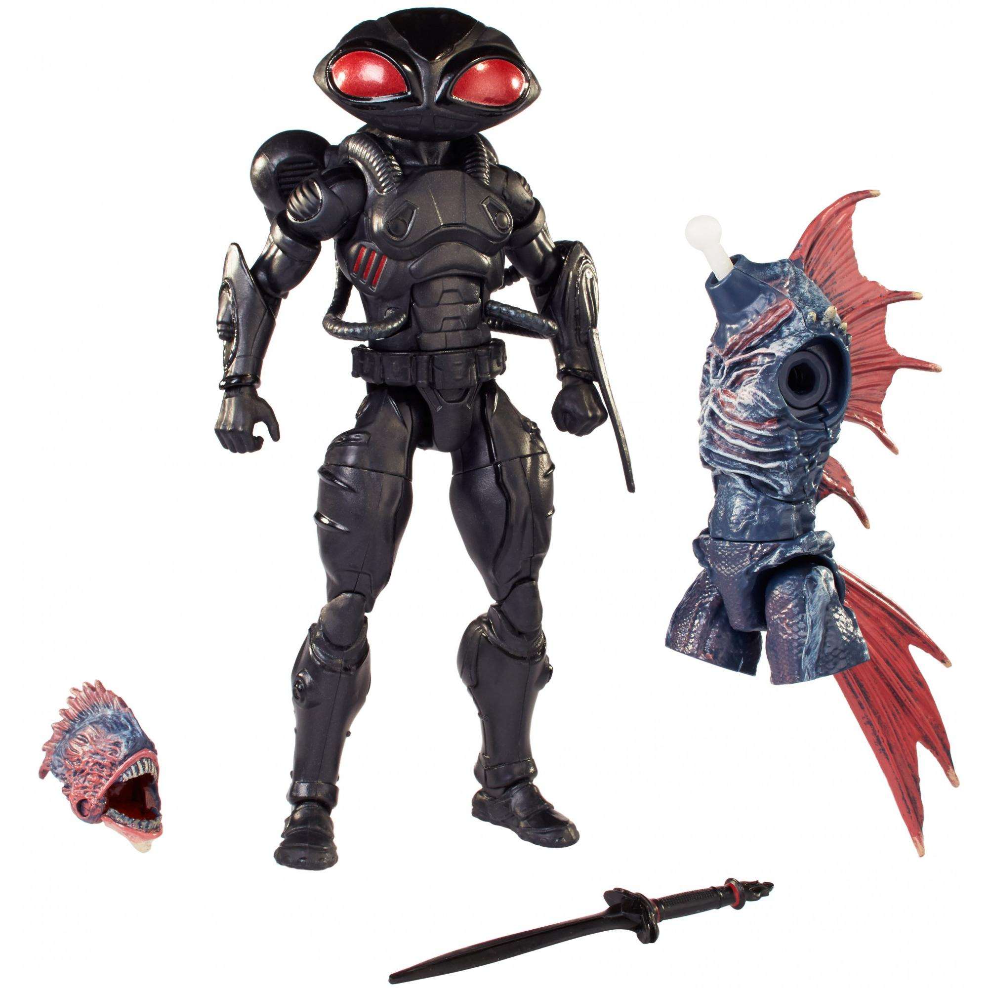 Aquaman Movie DC Multiverse Black Manta 6-Inch Scale Action Figure