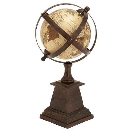 Aluminium Globe Nautical Maritime Decor