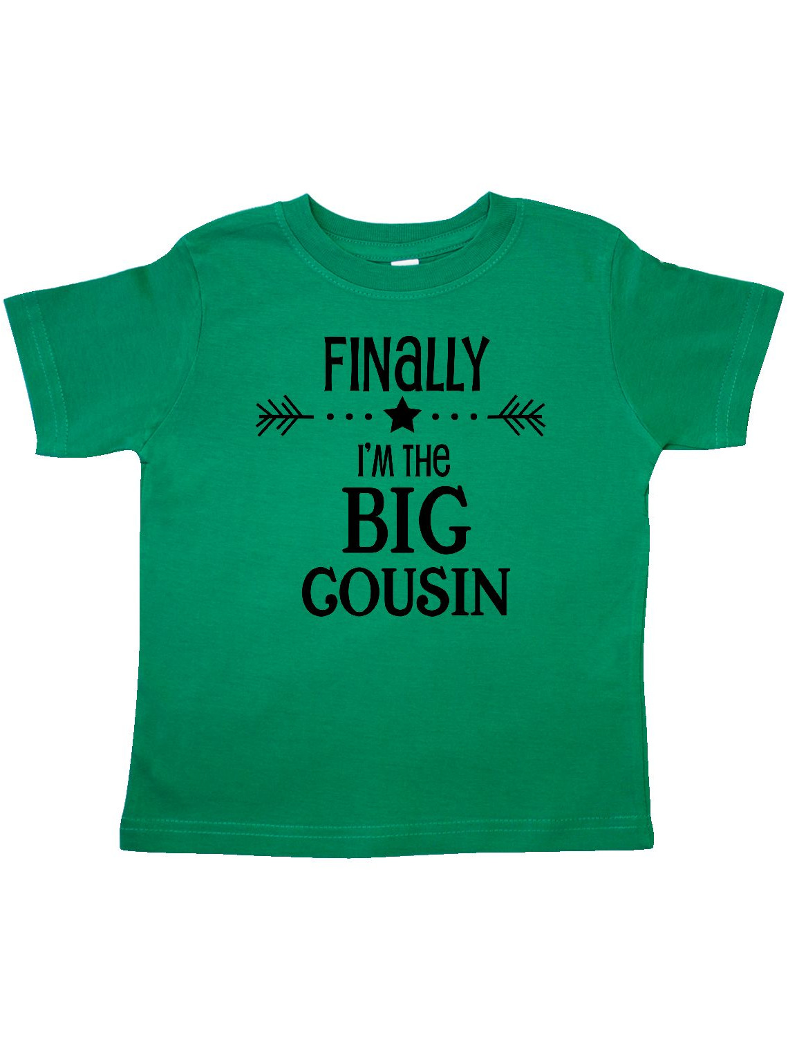 Finally I'm the Big Cousin Toddler T-Shirt