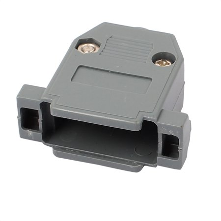 D-sub Connector Housing - DB15 Serial Port D-Sub Connector Kit Cover Housing Assembly Shell Plastic Hood