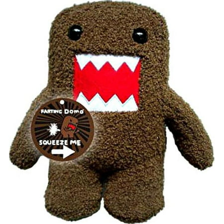 """Licensed 2 Play Domo Farting 9"""" Plush Novelty Doll - image 1 of 1"""