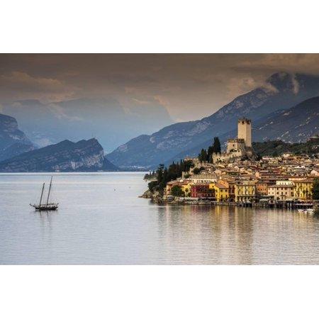 955 Italian (Malcesine, Lake Garda, Veneto, Italy Print Wall Art By Stefano Politi Markovina)