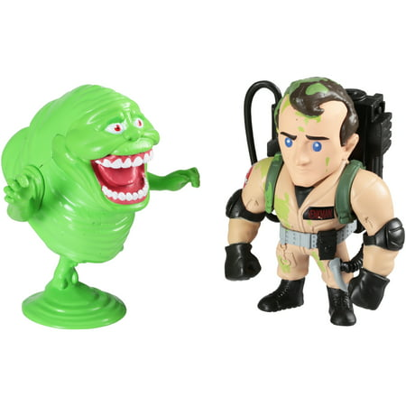 - Metals Die Cast Ghostbusters™ Venkman™ & Slimer™ Collectible Figures 2 pc Box