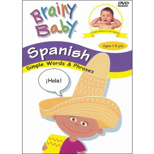 Gaiam brainy baby learn spanish language dvd classic edition