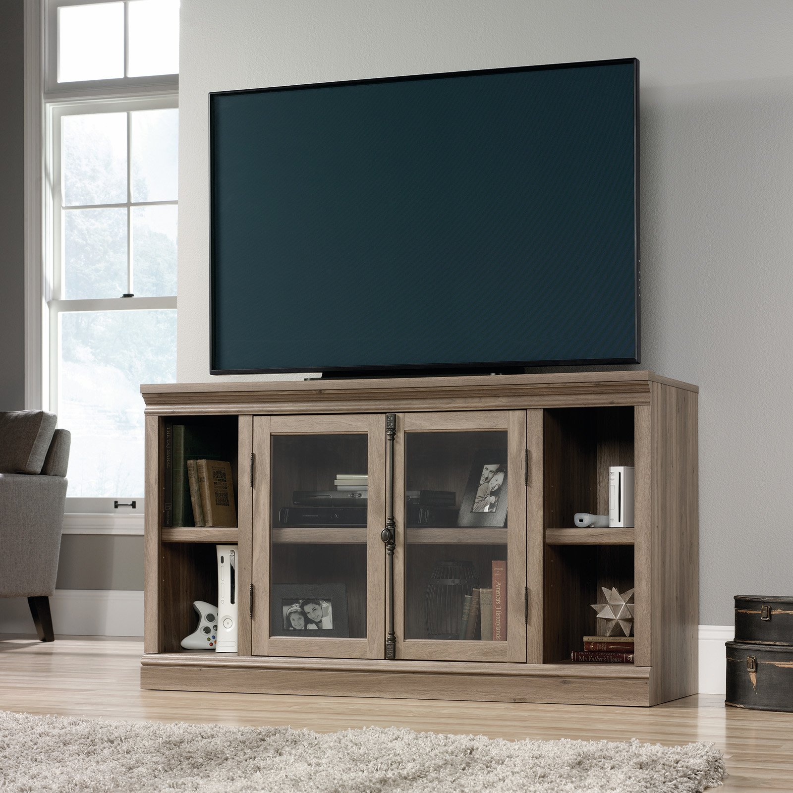 Sauder Barrister Lane Entertainment Credenza For TV's Up To 60\ by Sauder Woodworking Co