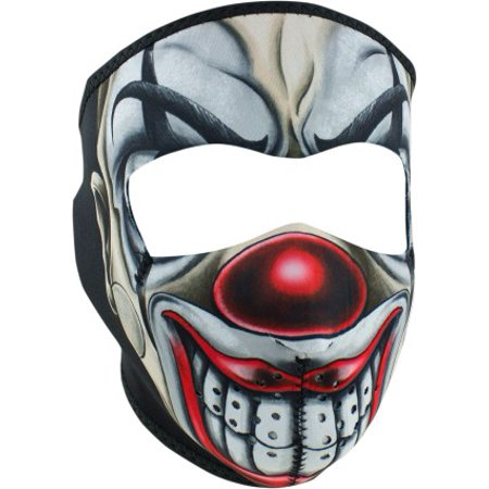 Neoprene Thermal Face Mask - Chicano Clown - Outdoor - Cool Clown Faces