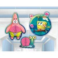 Spongebob Squarepants Honeycomb Decorations (3pc)