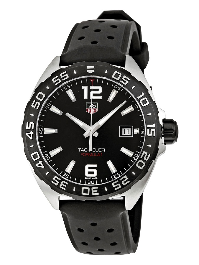 Tag Heuer Formula One Black Dial Men's Watch WAZ1110.FT8023