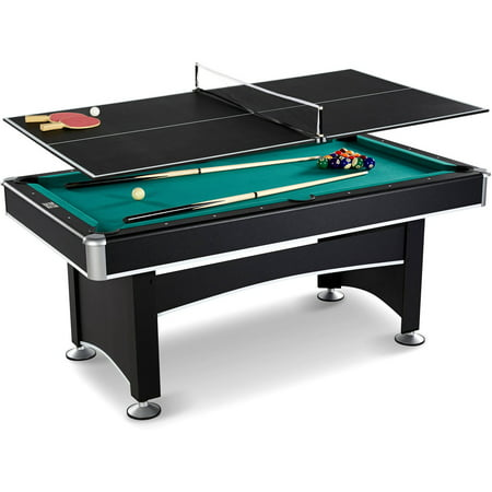 Barrington 6 ft arcade billiard table with table tennis - Professional pool table size ...