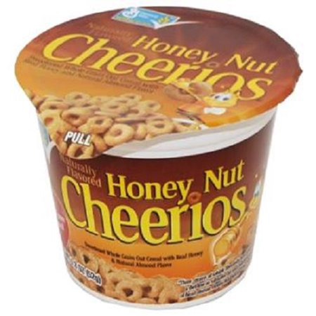 (GENERAL MILLS CEREAL HONEY NUT CHEERIOS - Cup 1.8 oz Each ( 6 in a Pack ))