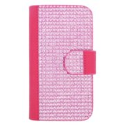 Insten Leather Case Cover For Apple iPhone 6 6s HTC One M7 M8 LG G2 Nexus 4 5 LG Tribute HD X Style Motorola Moto X Samsung On5 Galaxy S3 S4 S5 S6 Sol Express Amp Prime - Hot Pink