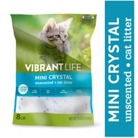 Vibrant Life Mini Crystal Unscented Cat Litter