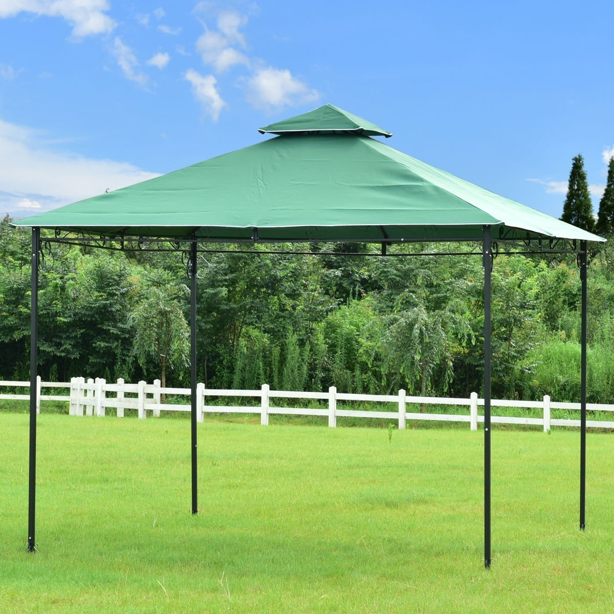New MTN-G MTN-G 2-Tier 10x10 Gazebo Canopy Shelter Patio Wedding Party Tent Outdoor Awning by MTN Gearsmith