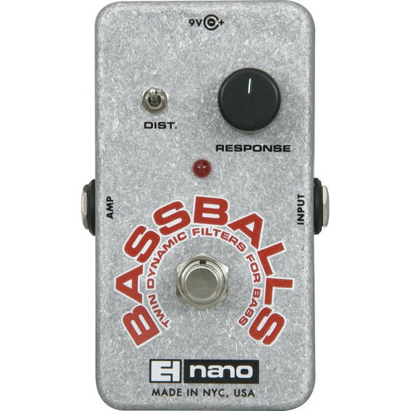 Electro-Harmonix Nano Bassballs Bass Envelope Filter by Electro-Harmonix