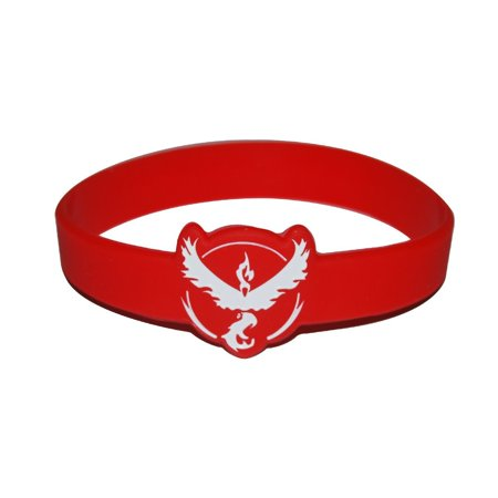 3 Team Valor  Pokemon GO Team Spirit Bracelet  Wristband Bundle](Team Bride Wristbands)