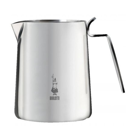 Bialetti, 16 Ounce Stainless Steel Frothing Pitcher, (Stainless Steel Frothing Steaming Pitcher)