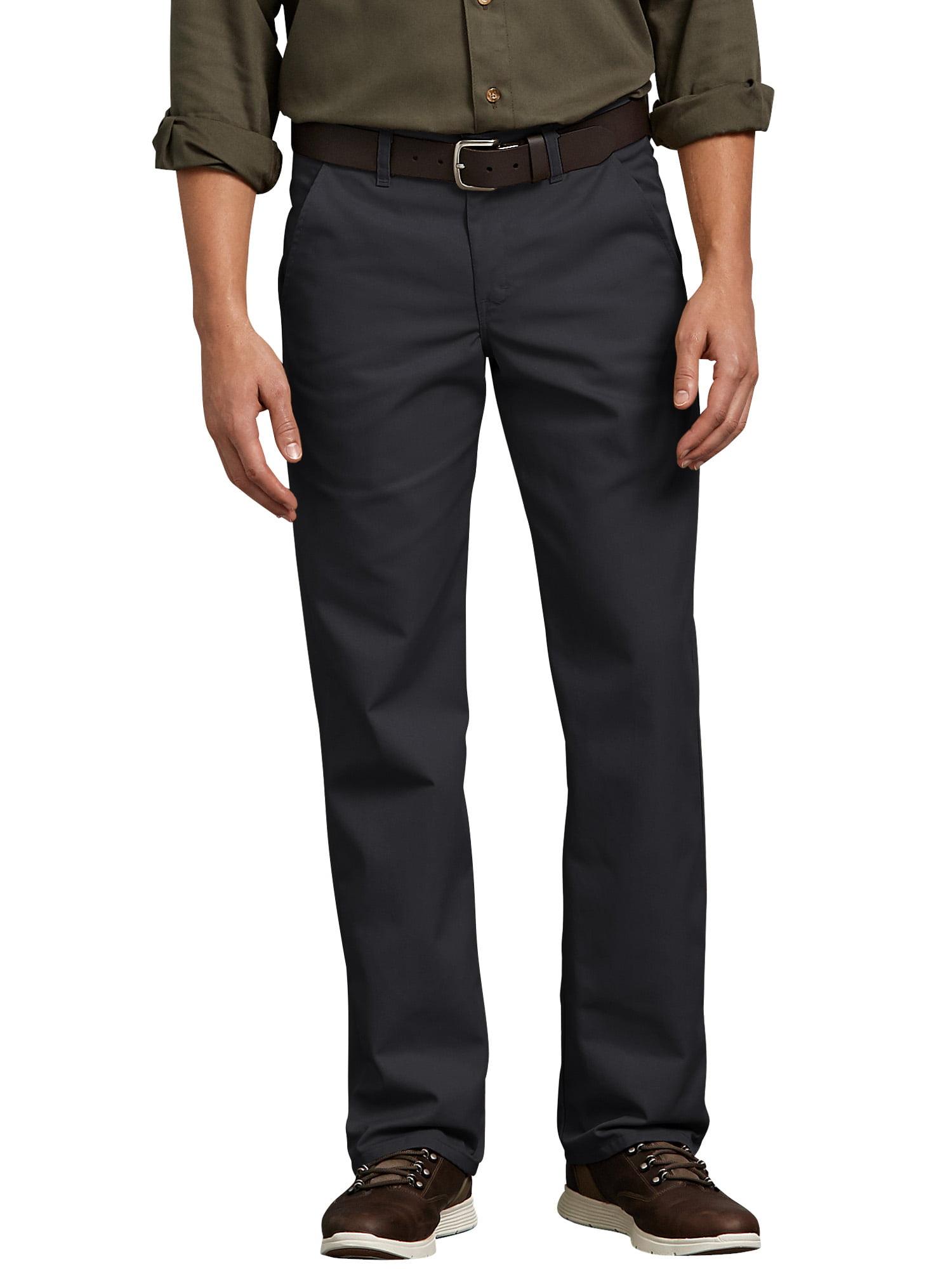 Dickies Mens Flat-Front Pant
