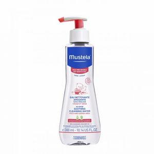 Mustela Baby No-Rinse Soothing Cleansing Water, Sensitive Skin 10.14 Oz