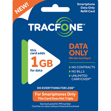 Tracfone Wireless Tracfone $10 Smartphone Data Only