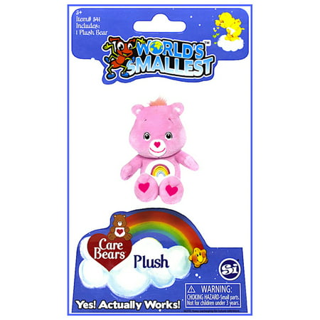 Worlds Smallest Care Bear Cheer Bear Plush 3