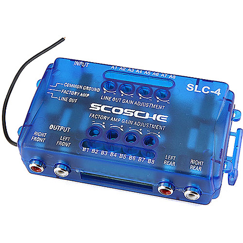 Scosche SLC4 - SPKR LEVEL CONV 80W