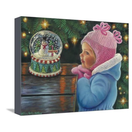 Christmas Through Your Eyes Stretched Canvas Print Wall Art By Tricia Reilly-Matthews ()
