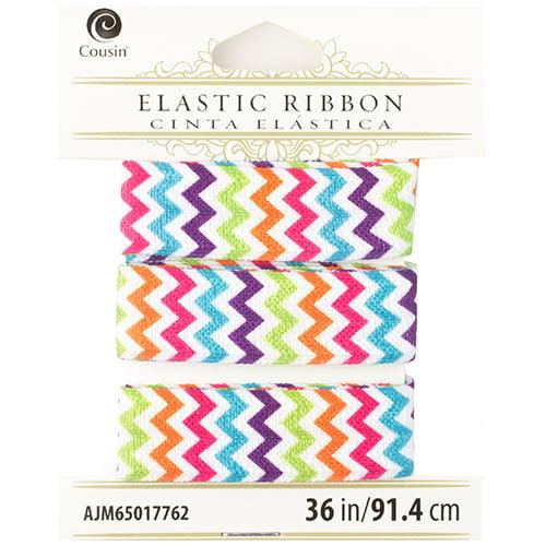 Cousin 36in Rainbow Chevron Fashion Elastic