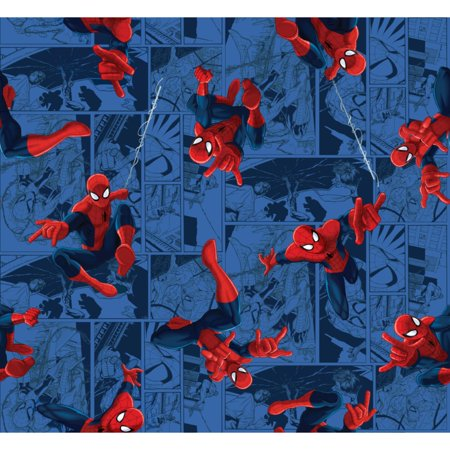 Marvel Spider-Man Toss Fabric - Corn Spider