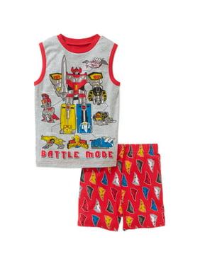 Battle Mode Boys Shorts Pajama Set (4)