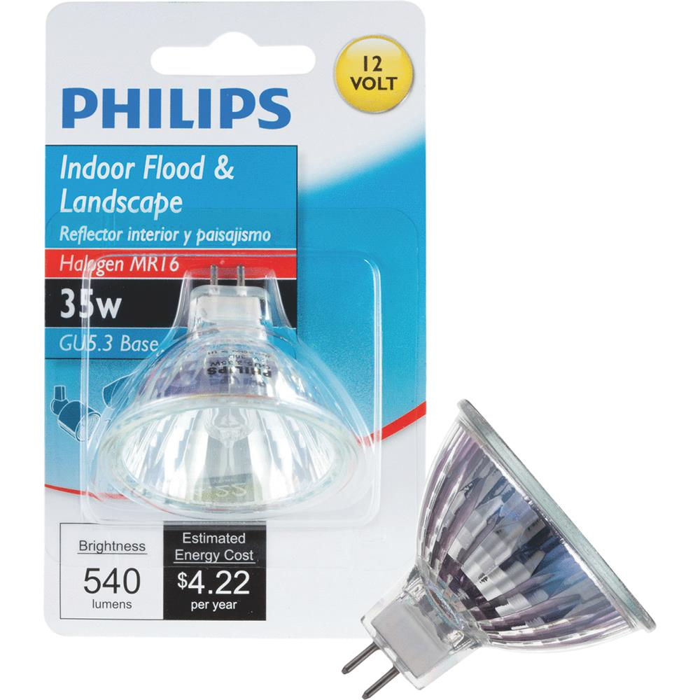 Philips Lighting Co 35w 12v Mr16 Hal Bulb 419325