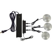 Good Earth Lighting Expandable Plug-In Puck LED Under Cabinet Light Kit