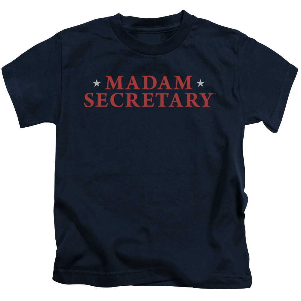 Madam Secretary Logo Little Boys Shirt