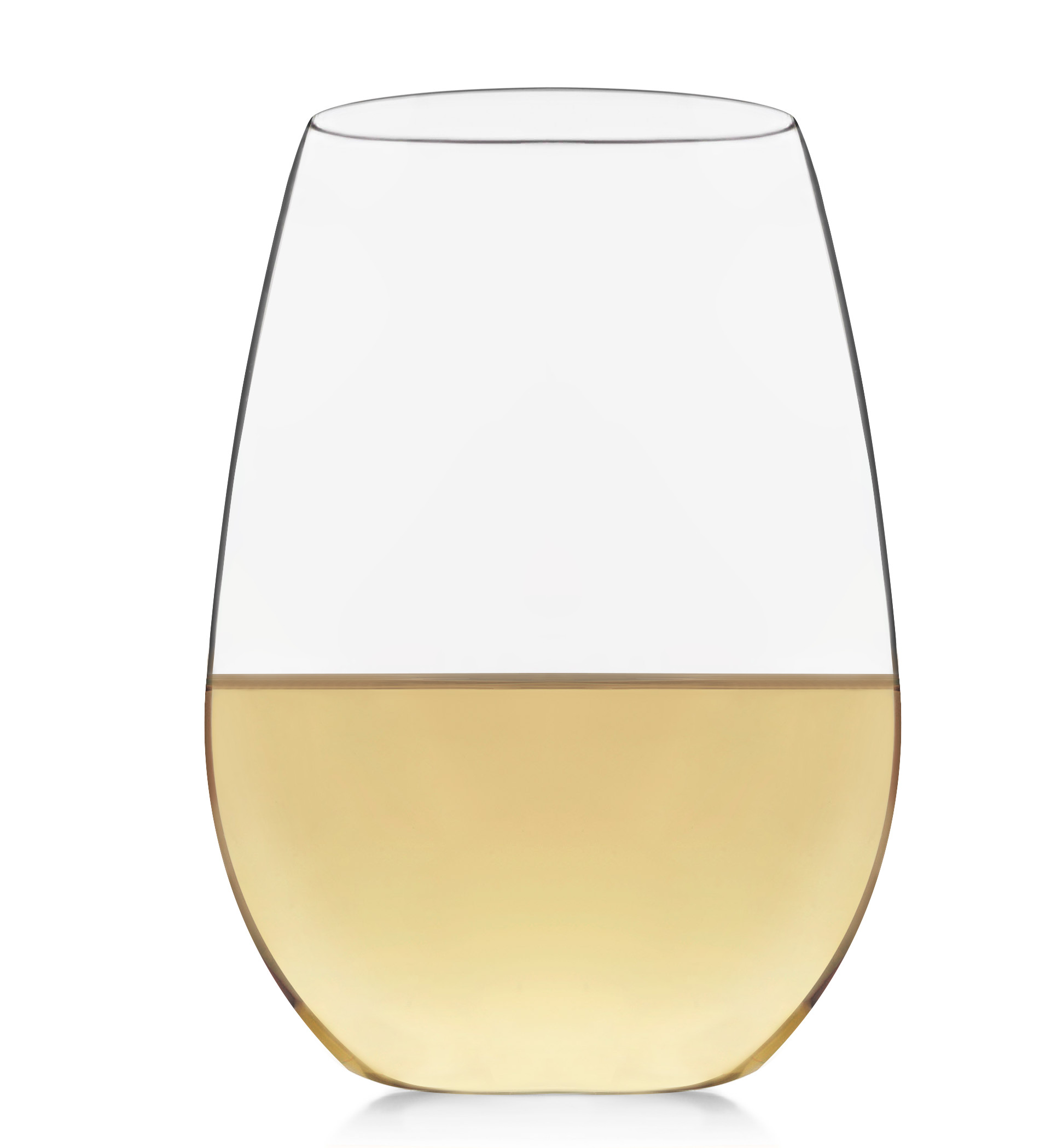 Libbey Signature Kentfield Stemless White Wine Glasses, Set of 4 by Libbey