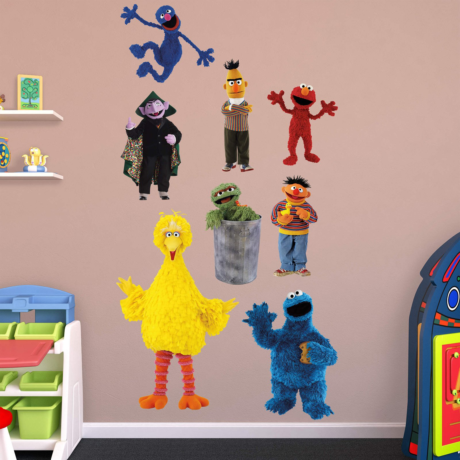 Fathead Sesame Street Wall Decal Collection