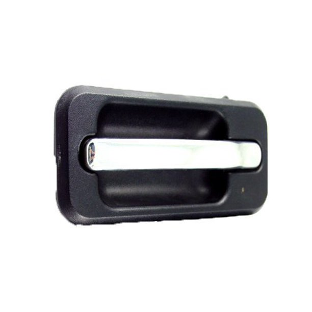 Hummer H2 Sut 03 09 Rear Outer Door Handle W Chrome Trim Lh 25845864 Hu1520101 03