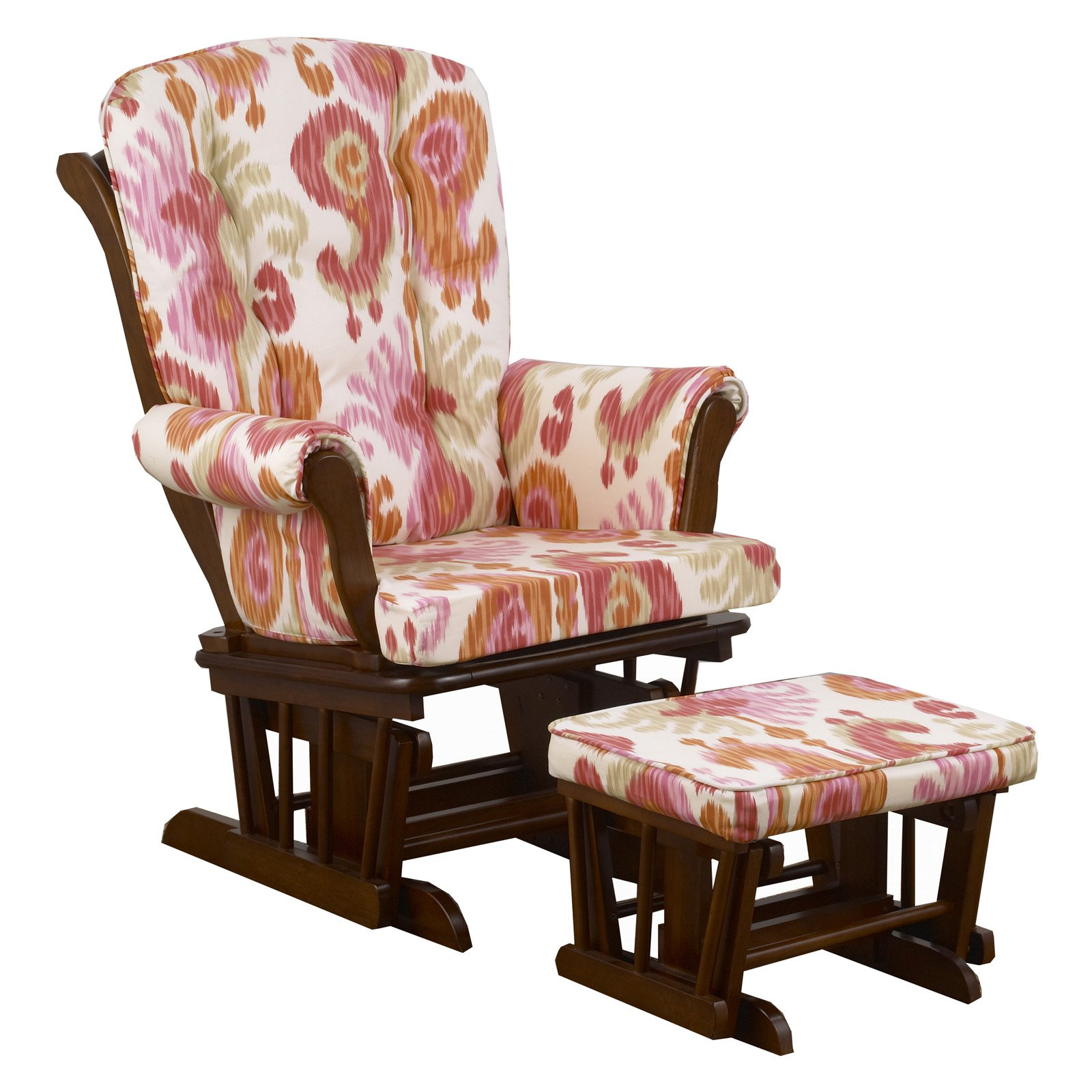 Cotton Tale Designs Sundance Ikat Glider with Ottoman