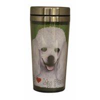 E&S Pets Poodle Travel Mug