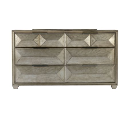 Global Furniture USA Silver Soho Dresser only