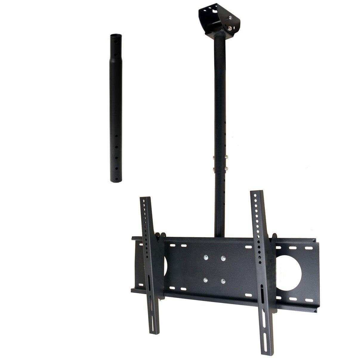 Secu Tilt Pan Tv Ceiling Mount For Samsung 39 65 Lcd Led Plasma Hdtv Uhd Un65ju640dfxza Un75f6400afxza Bwd Com