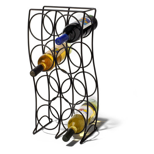 Spectrum Diversified Curve 8 Bottle Wine Rack