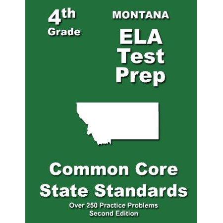 Montana 4th Grade Ela Test Prep: Common Core Learning Standards - image 1 de 1