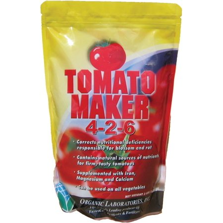 Lab Number-3 Tomato Maker Blossom End Rot Prevention, Produces superior, high quality tomatoes and other vegetables By Organic