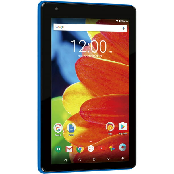 "RCA Voyager 7"" 16GB Tablet Android OS - Blue - RCT6873W42"