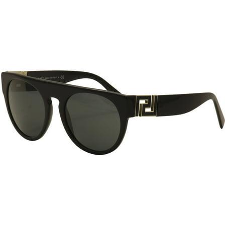 336317a6753 Versace - Versace Men s VE4333 VE 4333 GB187 Black Gold Fashion Sunglasses  55mm - Walmart.com