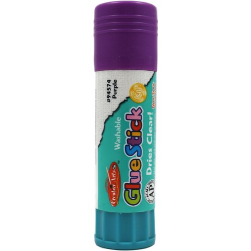 Charles Leonard Co. Economy Glue Stick 74oz Purple