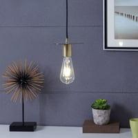 Soko Mini Pendant Lamp, Midcentury Modern, Antique Bronze