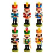 Graupner 3 in. Assorted Nutcracker Ornaments - Set of 6