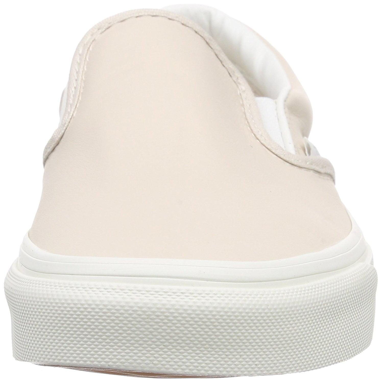 ba72fd202ef212 Vans - Vans Classic Slip-On Leather Whispering Pink   Blanc De Ankle-High  Skateboarding Shoe - 10.5M 8.5M - Walmart.com